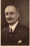 3660. FICHE FORMAT CPA ELECTIONS LEGISLATIVES DE 1932. LOUIS PROUST. ..MAIRE DE NEUILLE PONT PIERRE 37... - Partis Politiques & élections
