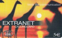 Italy Remote Memory Extranet Giraffes - GSM-Kaarten, Aanvulling & Voorafbetaald