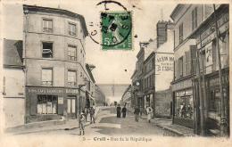 D60  CREIL  Rue De La République  ..... - Creil