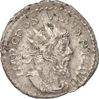 Postumus, Antoninianus, Lyons, TTB+, Billon, RIC:78 - 5. L'Anarchie Militaire (235 à 284)