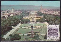 7902. Yugoslavia 1965 Zagreb Tomislav's Square, CM - 1945-1992 Sozialistische Föderative Republik Jugoslawien