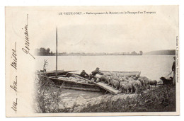 27 Le Vieux Port. Embarquement De Moutons - France