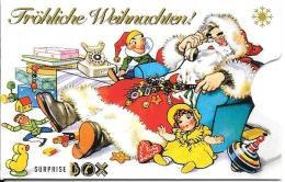 Card Safe Box: Fröhliche Weihnachten 1 - Telefonkarten
