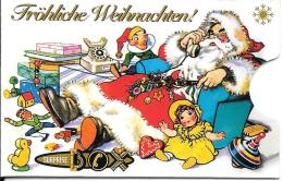 Card Safe Box: Fröhliche Weihnachten 2 - Telefonkarten