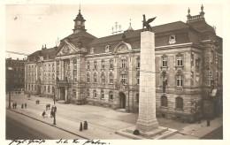 Deutschland, 1926, Karlsruhr Hauptpost Und 109er Denkmal, Pforzheim Nach München Siehe Scans! - Allemagne