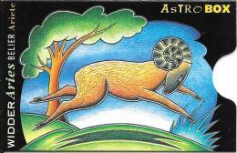 Card Safe Box: Astro Widder - Telefonkarten