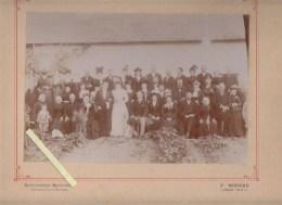 Photo F.Bosseau - Longué (49) - Mariage Circa 1920 - Luoghi