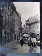 65Cu  Suisse Photo Guerre 14/18 Bellinzona Le Marché Chocolats Merkur En Aout 1915 (rare) - TI Ticino