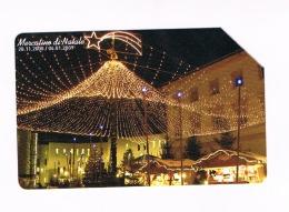 TELECOM ITALIA - C & C F4596 BRUNICO, MERCATINO DI NATALE 2008  - USATA (RIF. CP) - Pubbliche Speciali O Commemorative