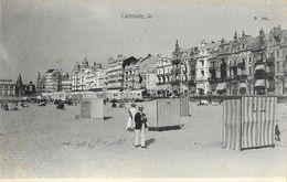 Souvenir D'Ostende, Le... - Plage Bord De Mer - Carte N°105, Non Circulée - Oostende