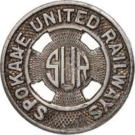 États-Unis, Spokane United Railways, Token - Professionnels/De Société