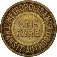 États-Unis, Metropolitan Transit Authority, Token - Professionnels/De Société