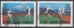 Finlandia 1971 Nº 659/60 Usado - Gebraucht