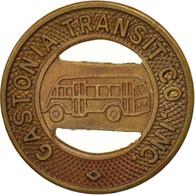 États-Unis, Gastonia Transit Company Incorporated, Token - Professionnels/De Société