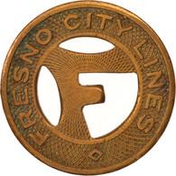 États-Unis, Fresno City Lines, Token - Professionnels/De Société