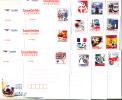 THAILAND - 2012 - 40% OFF - FOOTBALL EURO 2012 - 15 PREPAID POSTCARDS AS COMPLETE SET - Tailandia