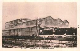 Bordeaux Bassens - Usine SCHLOESING - Soufres & Engrais - Train Locomotive Chemin De Fer - Belle Animation - Bordeaux