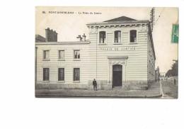 77 - FONTAINEBLEAU - Le Palais De Justice - N° 94 ELD - Animation - 1911 - Fontainebleau
