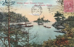 Whiskey Island , Thousand Islands , Near Kingston   - Scan Recto-verso - Ontario