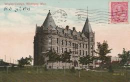 Winnipeg - Wesley  College  - Scan Recto-verso - Winnipeg