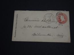 ETATS - UNIS - Entier Postal  De New Orléans En 1884 Pour Milwaukee - A Voir - L 531