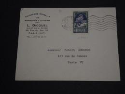 FRANCE - Enveloppe De Paris Pour Paris En 1939 Avec N°440 Seul - A Voir - L 537 - Marcophilie (Lettres)