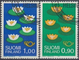 Finlandia 1977 Nº 767/68 Usado - Gebraucht