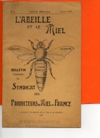 Bulletin Mensuel Du Syndicat Des Produsteurs De Miel De France -Edition Médicale - Janvier 1932 N°8 (20 Pages) - Santé
