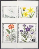 Berlin  1980 Wohlfahrtspflege / Flowers 4 Maxicards (30802) - [5] Berlijn