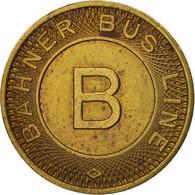 États-Unis, Bahner Bus Line, Token - Professionnels/De Société