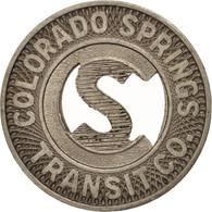 États-Unis, Colorado Springs Transit Company, Token - Professionnels/De Société