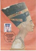 Berlin 1988 Nefretete 1v Maxicard (30805) - Maximum Kaarten