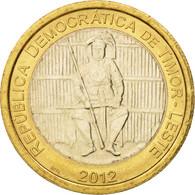 Timor, 100 Centavos, 2012, SPL, Bi-Metallic - Timor