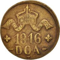 GERMAN EAST AFRICA, Wihelm II, 20 Heller, 1916, Tabora, TTB, Brass, KM:15a - Afrique De L'Allemagne De L'Est