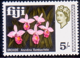 FIJI 1968 SG #385 5sh MH Orchids - Fidji (...-1970)