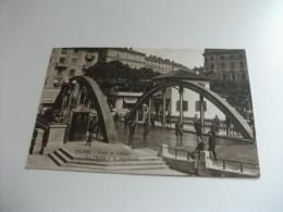 FIUME PONTE DI CONFINE FRA L'ITALIA E LA JUGOSLAVIA GENDARMI - Dogana
