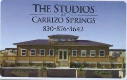 Carte Clé Hôtel : The Studios At Carrizo Springs - Cartes D'hotel