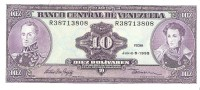 Venezuela  - Pick 61 - 10 Bolivares 1995 - Unc - Venezuela
