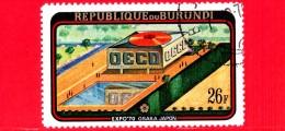 BURUNDI - Nuovo Oblit. - 1970 - EXPO '70 Osaka - 26 - Burundi