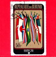 BURUNDI - Nuovo Oblit. - 1970 - EXPO '70 Osaka - 50 - Burundi