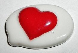 Asterix Coeur Fève Plate (Y) - BD