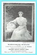 CPA Publicitaire Journal La Fronde - Marguerite DURAND Directrice Fondatrice -née à Paris VIII ; 8ème 2 Scans - Writers