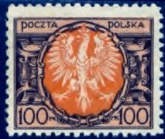Polen 1921, Poland, Polska, Pologne, SG 172, YT 229, Mi 173, MNG