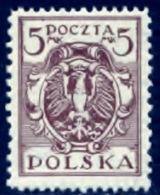 Polen 1919, Poland, Polska, Pologne, SG 151, YT 222, Mi 151, MNH
