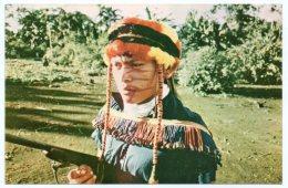 ECUADOR - RAMU, A YOUNG ASHUAR CATECHIST OF WICHIM / THEMATIC STAMP-LIONS - Ecuador