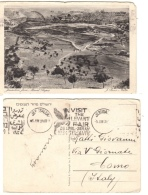 Cartolina Viaggiata Del 1934 - JERUSALEM From Mount Scopus - TELAVIV Palestina - Palestina