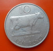 Guernsey 10 Pence 1977 - Guernesey