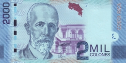 COSTA RICA 2000 COLONES 2009 (2011) P-275a UNC SERIE A. SIGN. GUTIERREZ & ROJAS [CR559a] - Costa Rica