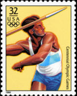Sc#3068a 1996 USA Olympic Games Stamp- Decathlon Javelin - Summer 1996: Atlanta