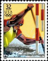 Sc#3068b 1996 USA Olympic Games Stamp- Canoeing Ship - Summer 1996: Atlanta